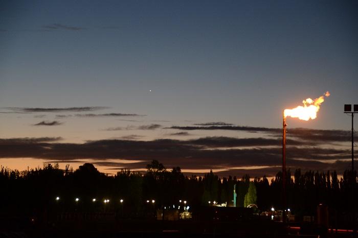 Planta gasificadora Estación fernadéz Oro en Allen-Rio Negro II