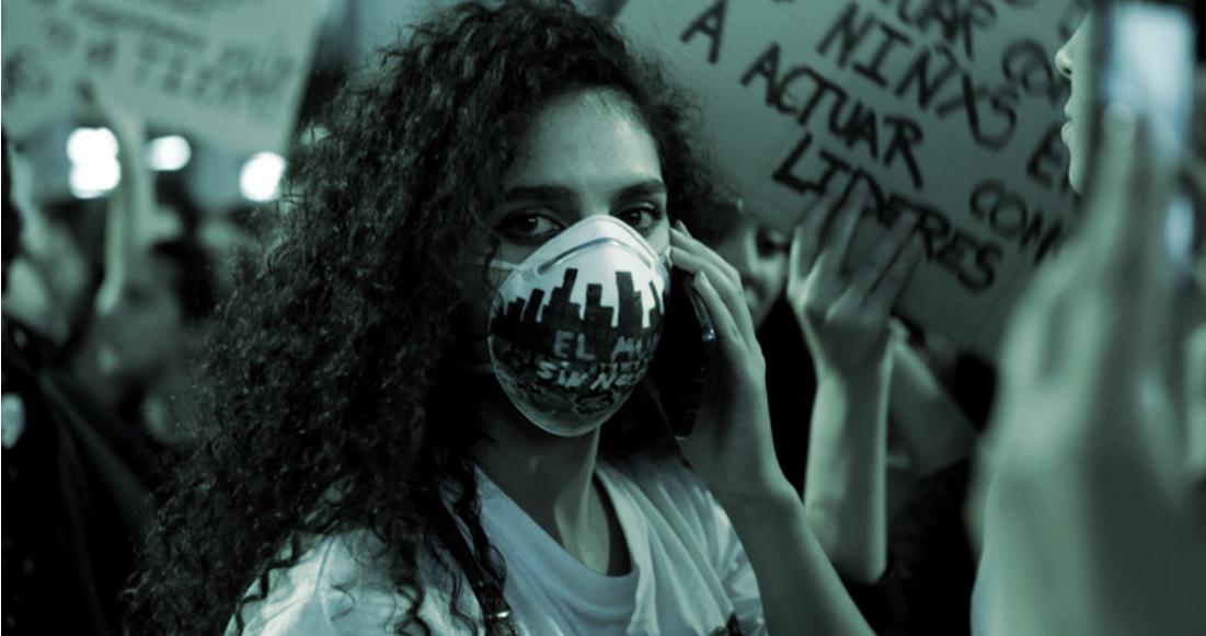 Manifestación por el clima en Madrid (Foto: Elvira Megías)